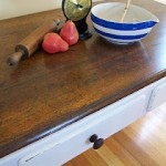 Old Desk to Dining Table