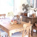 The Makings of a Dining Room