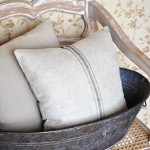 Linen Grain Sack Pillow Giveaway Winner!