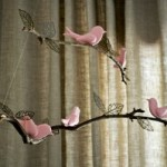 Bird and Twig Nursery Mobile