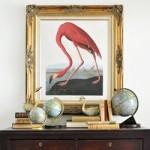 DIY Printable Audubon Flamingo