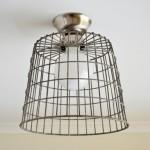 Wire Basket Light