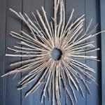 Starburst Twig Wreath