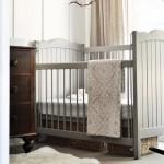 Grey Baby Cot