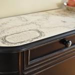 Map Embellished Cabinet