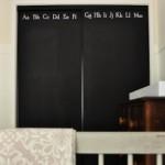 Blackboard Robe Doors