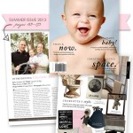 Charlotte's Nursery in Little One Baby Magazine