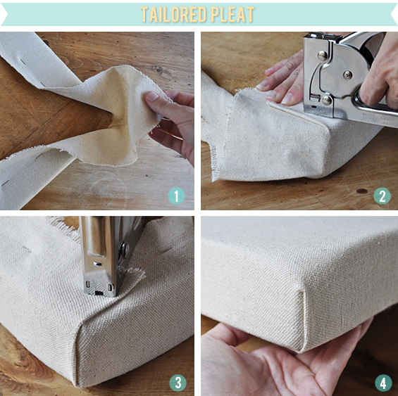 How To Upholster Seat Corners