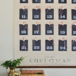 DIY Christmas Advent Calendar Wall Chart