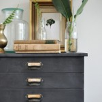 Flat Pack Hack: Chalkboard Faux Specimen Drawers