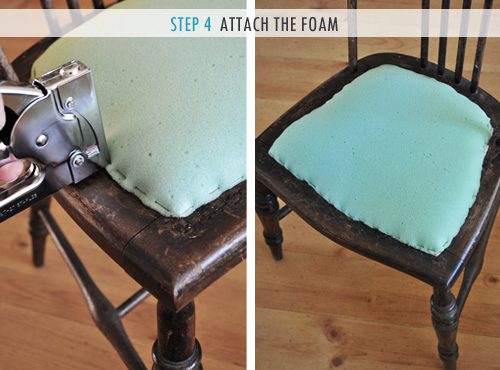 How To Upholster A Chair Seat The Painted Hive