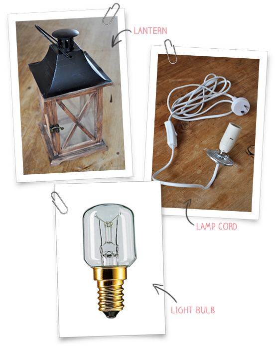 Convert a Lantern into a Lamp | The Painted Hive