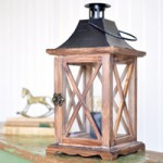 DIY Convert a Lantern to a Lamp