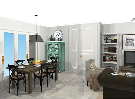 Room Re-Design in 3D