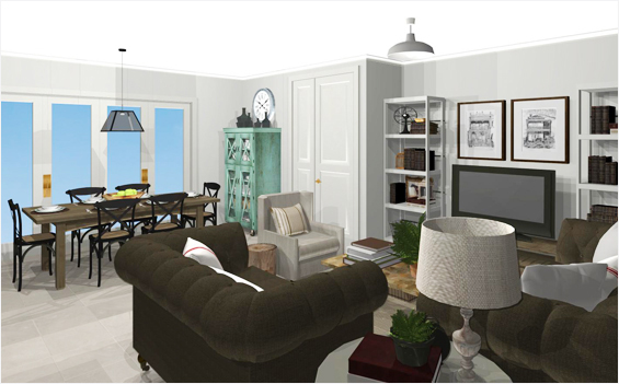 3D Room Rendering After