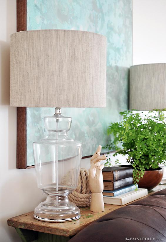 Elegant Glass Lamp