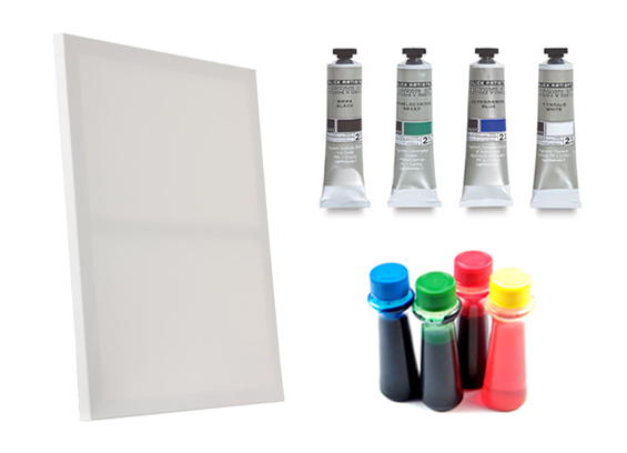 Abstract Art Painting Supplies