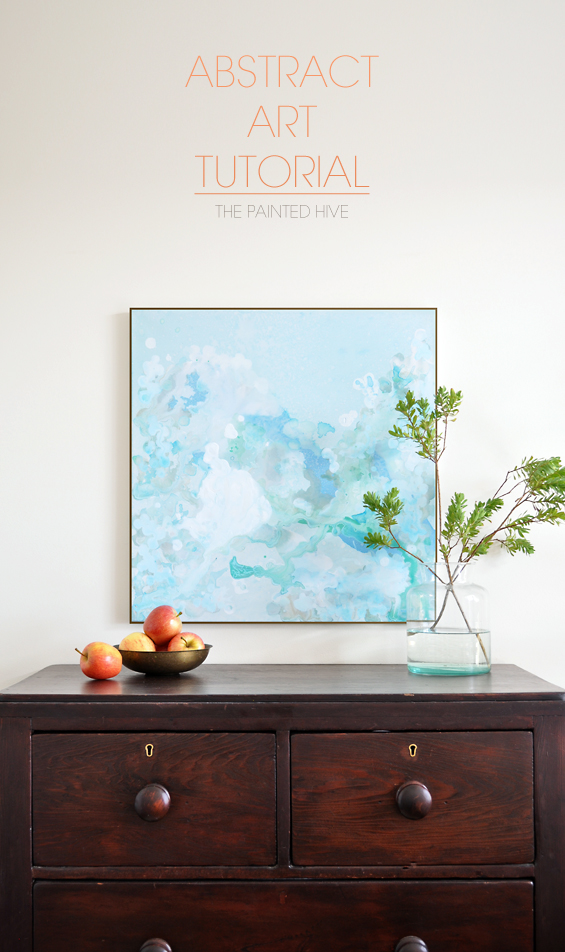 Abstract Art Tutorial   The Painted Hive