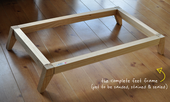 DIY Custom Mid Century Modern Furniture Feet