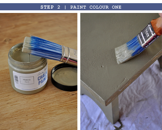 Step 2 | Chalk Paint Tutorial