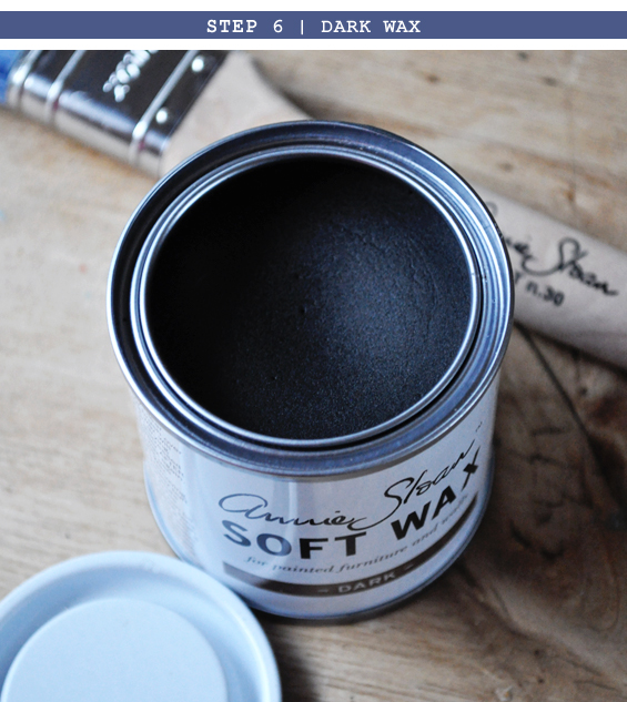 Step 6 |Vintage Distressed Chalk Paint Tutorial
