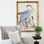 Over-Sized Heron Art | Huge High Resolution Free Printable!