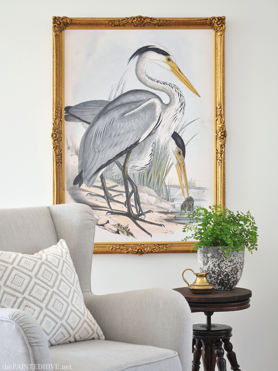 Free Printable Large Scale Bird Art The Painted Hive