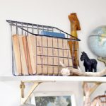 DIY Vintage Industrial Wire Basket