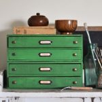 How to Create a Vintage Industrial Look on Furniture…using Chalk Paint & Black Wax