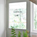 DIY Glass Door Decal