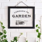 Through to Garden Decal