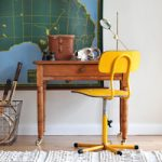 "A ""New"" Vintage Desk & Swivel Chair"