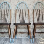 Paint Dipped Windsor Dining Chairs