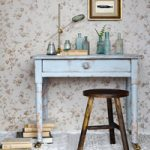 Distressed Painted Kid's Desk
