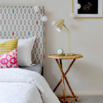 DIY Easy Slipcovered Headboard Tutorial…plus how to extend a low bedhead