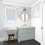 Bathroom Vanity Decisions & Extension Progress