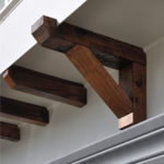 DIY Pergola-Style Balcony Millwork