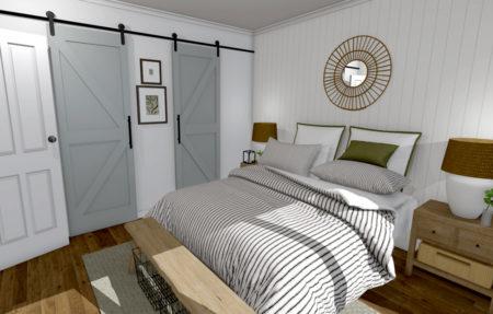 Bedroom Barn Doors