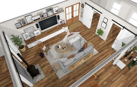 Living Room Boho 1