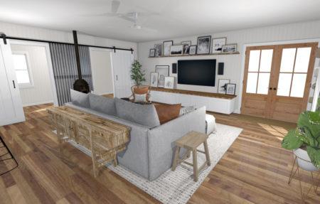 Living Room Boho 2