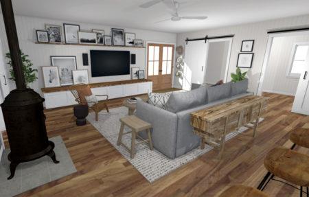 Living room Boho 3