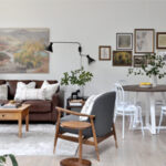 Budget-Friendly Airbnb Bungalow Makeover | Living & Dining Room Reveal