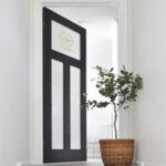 """Vintage"" Door Makeover…with DIY Gold Foil Decal"